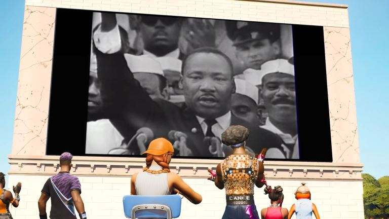 Martin Luther King Jr. Is Coming To Fortnite