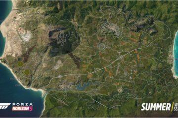 Forza Horizon 5's Full Map Revealed