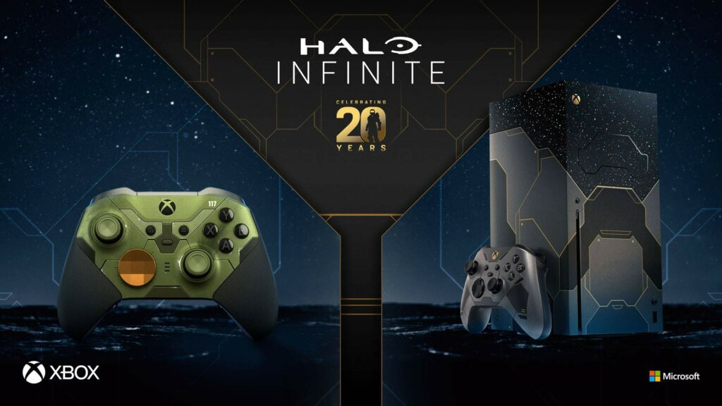 Xbox Unveiled Limited Edition Halo Infinite Xbox Series X