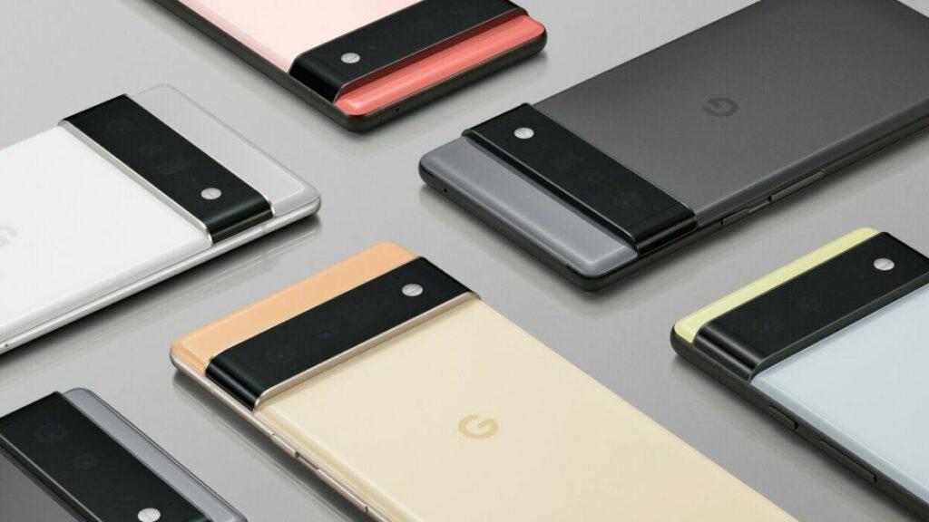 Google Pixel 6 & Pixel 6 Pro with In-display fingerprint sensor, Google's SVP