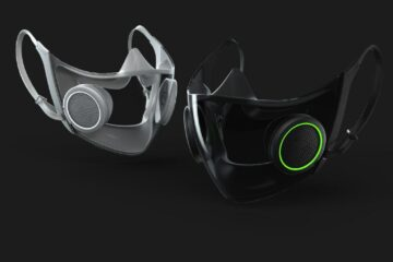 Razer just unveiled its Zephyr RGB face mask officially!