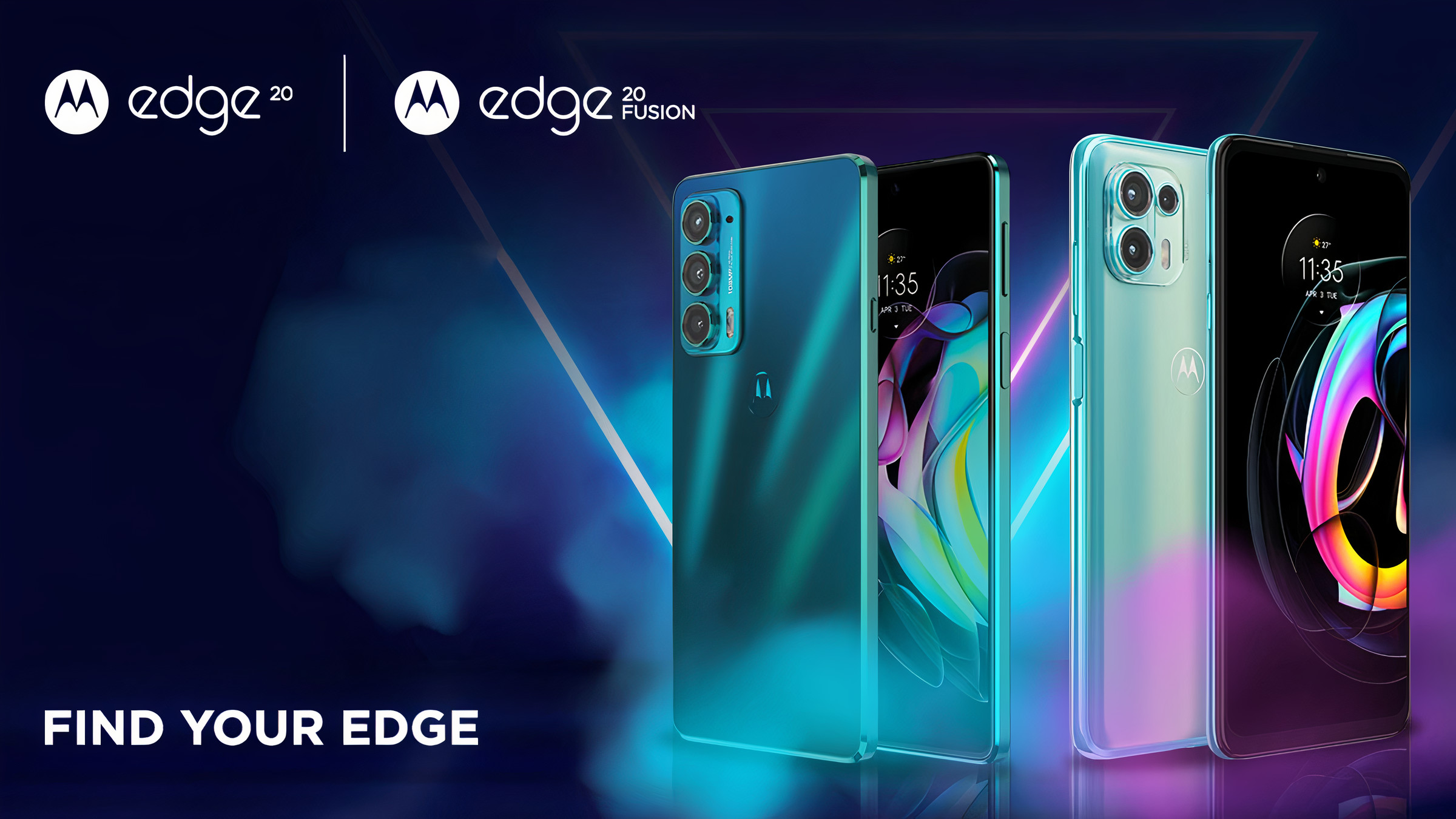 Banner Image of Motorola Edge 20 and Edge 20 Fusion