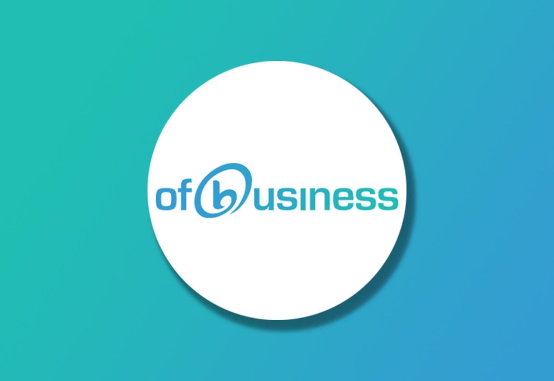 OfBusiness Logo on Gradient background
