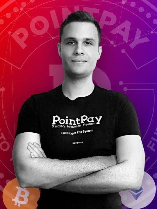 PointPay CEO Andrey Svyatov