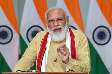 Prime Minister Narendra Modi will be addressing the nation