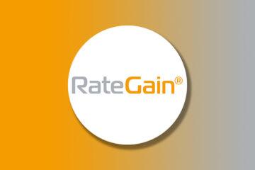 RainGain Travel logo on a gradient background