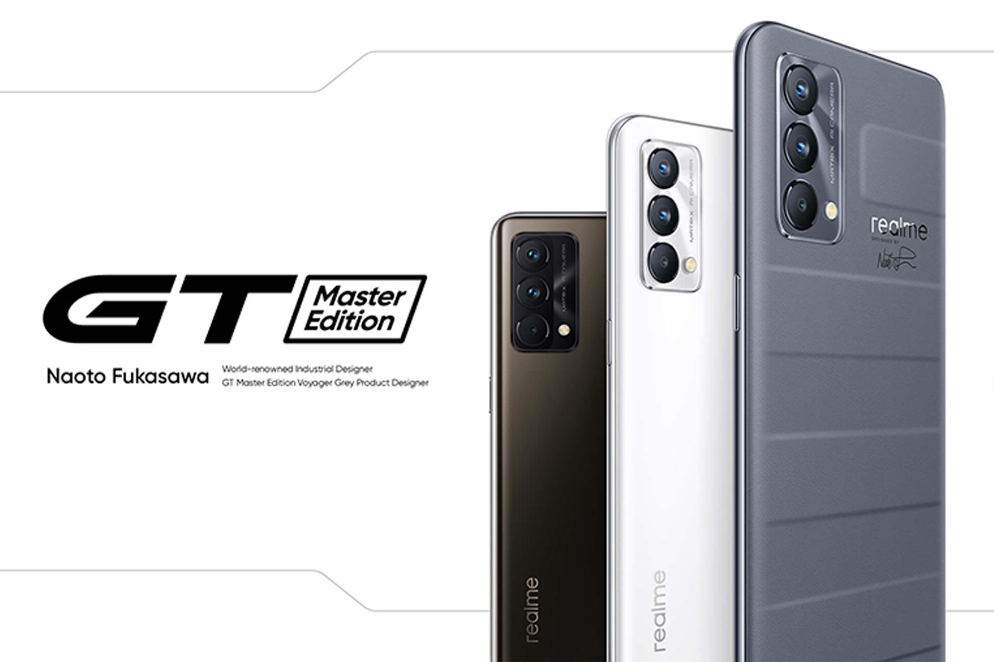 Realme GT Master Edition Banner Image
