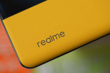 Back panel of Realme GT Master Edition