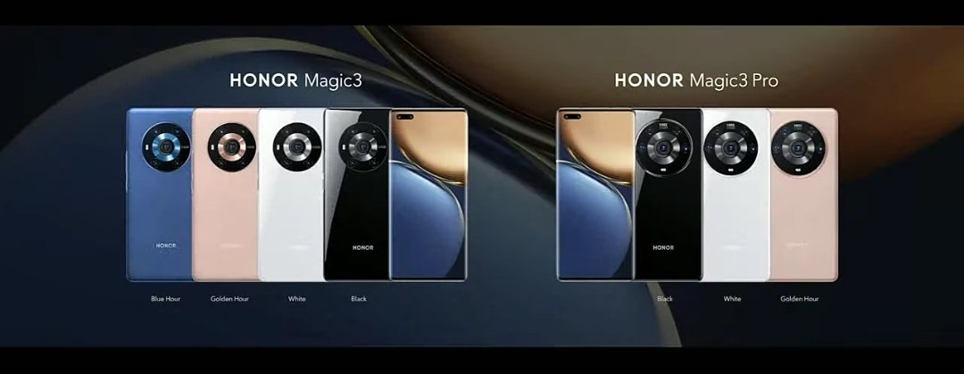 Honor officially launches Magic 3 series featuring 50MP Sony IMX700 camera & more