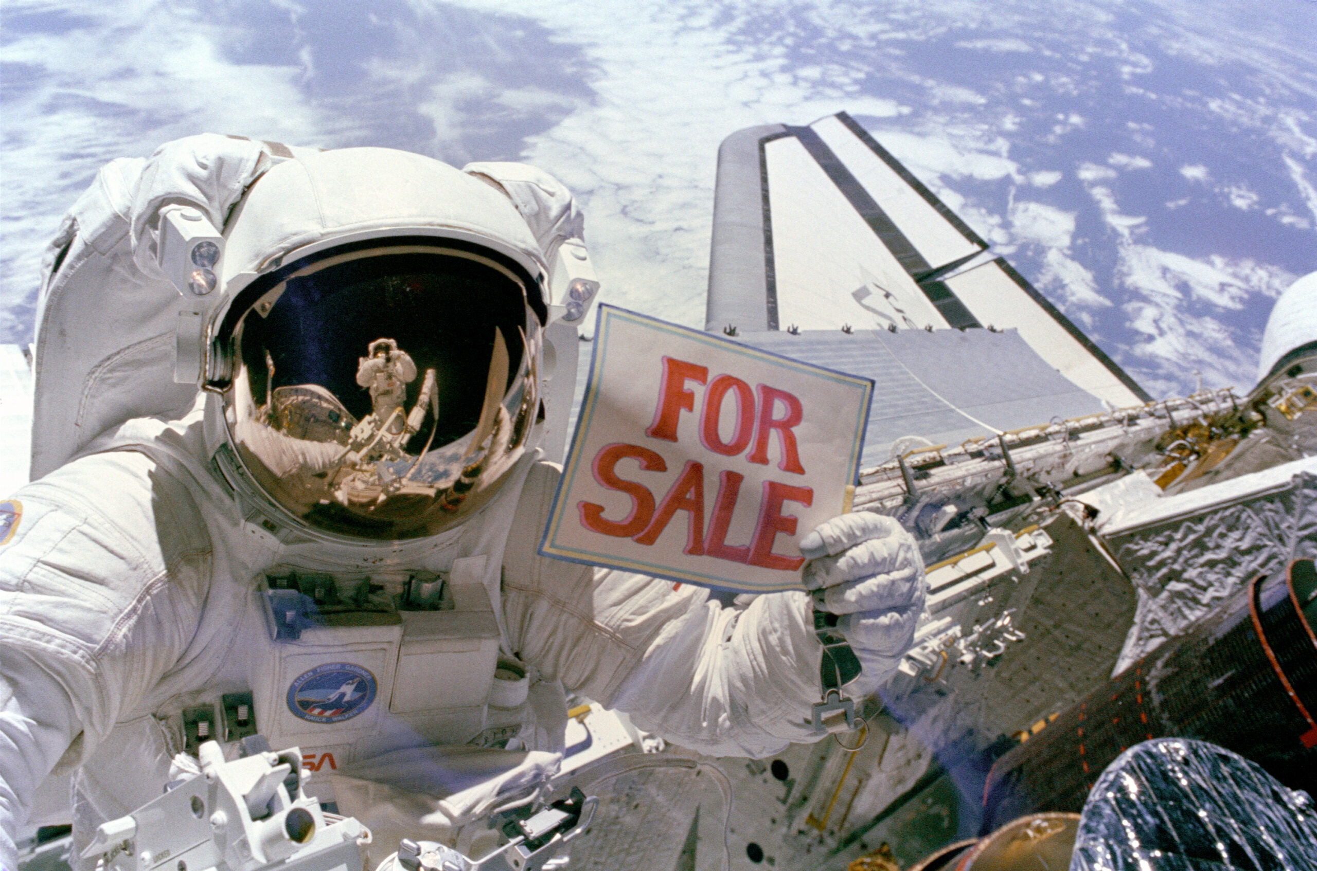 buy ads in Space with Dogecoin will soon be a thing