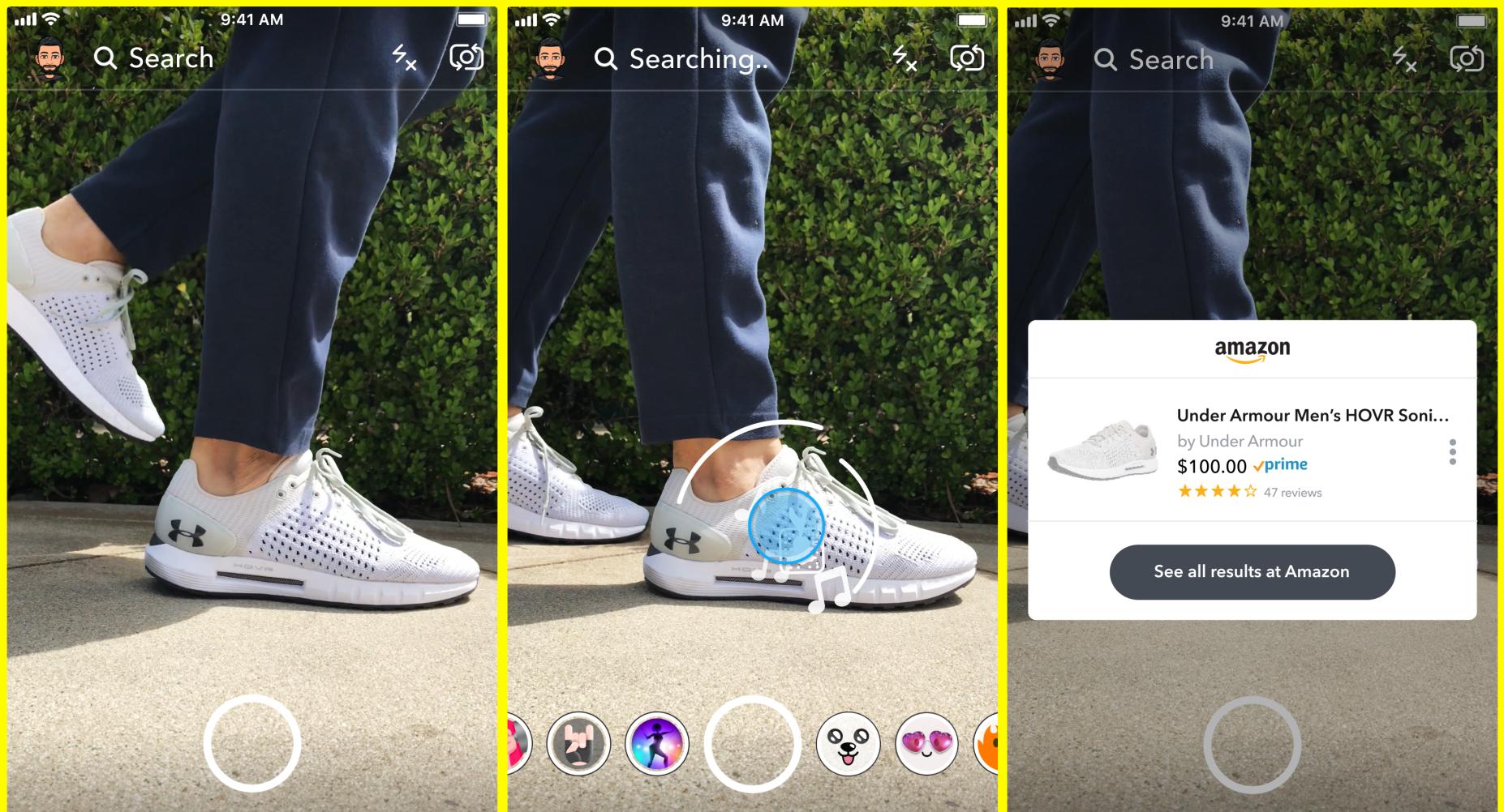 Snapchat Visual Search