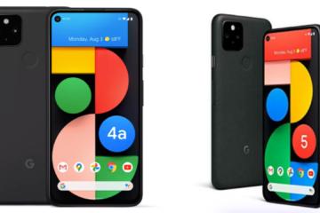 Google discontinues its Pixel 5 & Pixel 4A 5G ahead of Pixel 6 launch