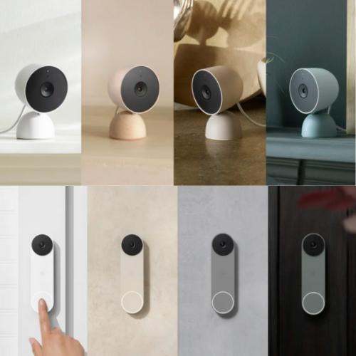 Google launches Nest Cam & battery powered Nest video doorbell