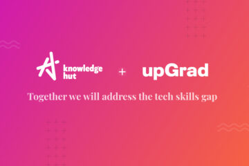 Announcement banner KnowledgeHut gets acquired by UpGrad