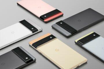 Google Pixel 6 is official