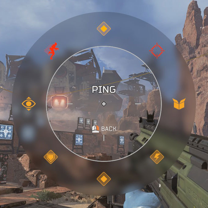 Apex Legend's ping system