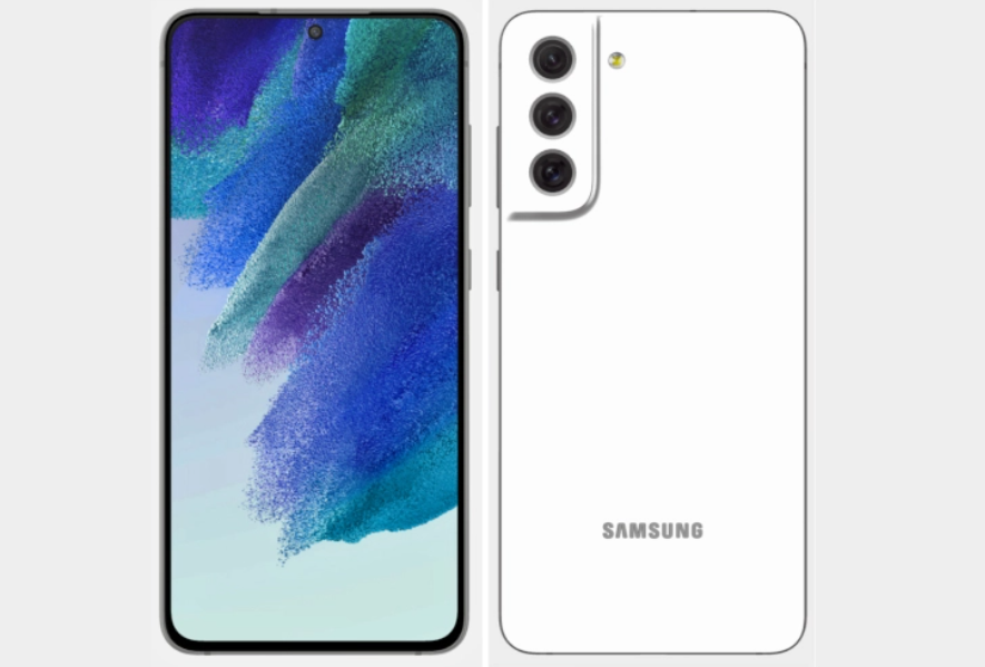 Samsung Galaxy S21 FE 3D official renders