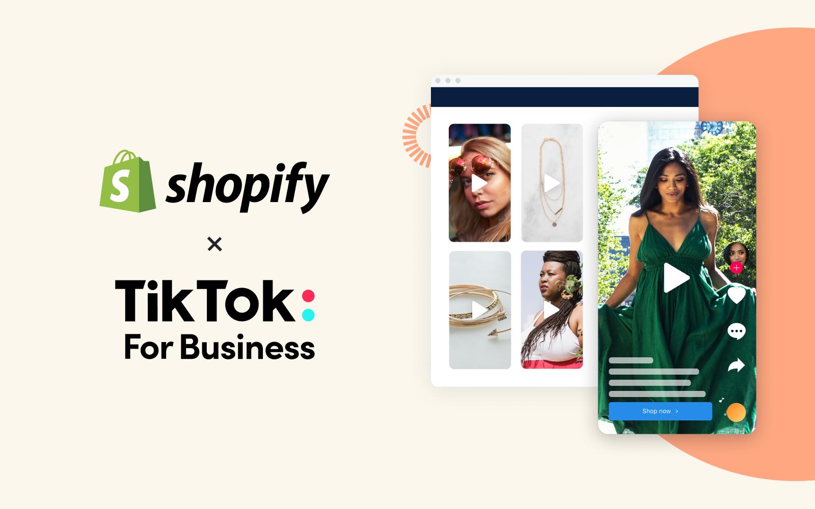 Shopify and TikTok