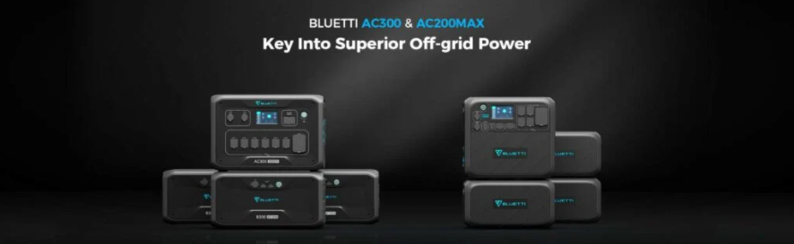 Bluetti launches AC2000 Max off-grid power station with B230 & B300 battery modules