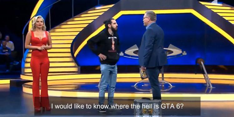 Man invades German game show demanding GTA 6