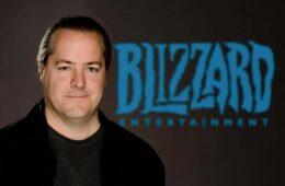 Blizzard president stepped down