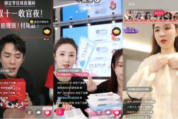China livestreaming hosts