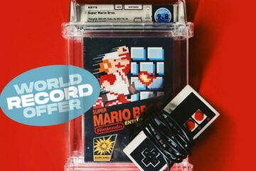 Unopened 1985 Super Mario Bros. Video Game Sells For Record $2 Million