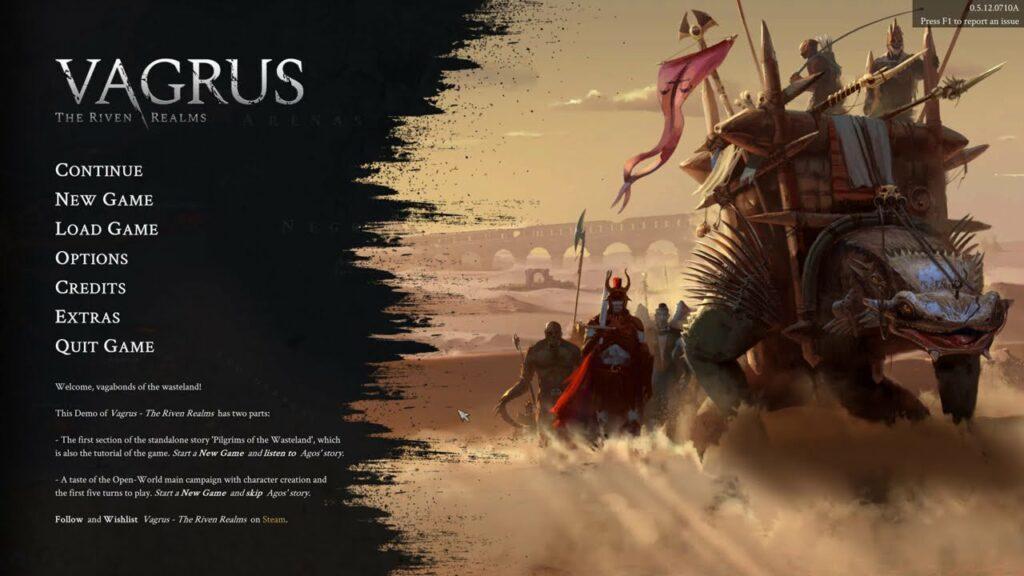 Vagrus: The Riven Realms