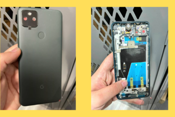 Google Pixel 5a component images leaked online speculating its launch on 17th August