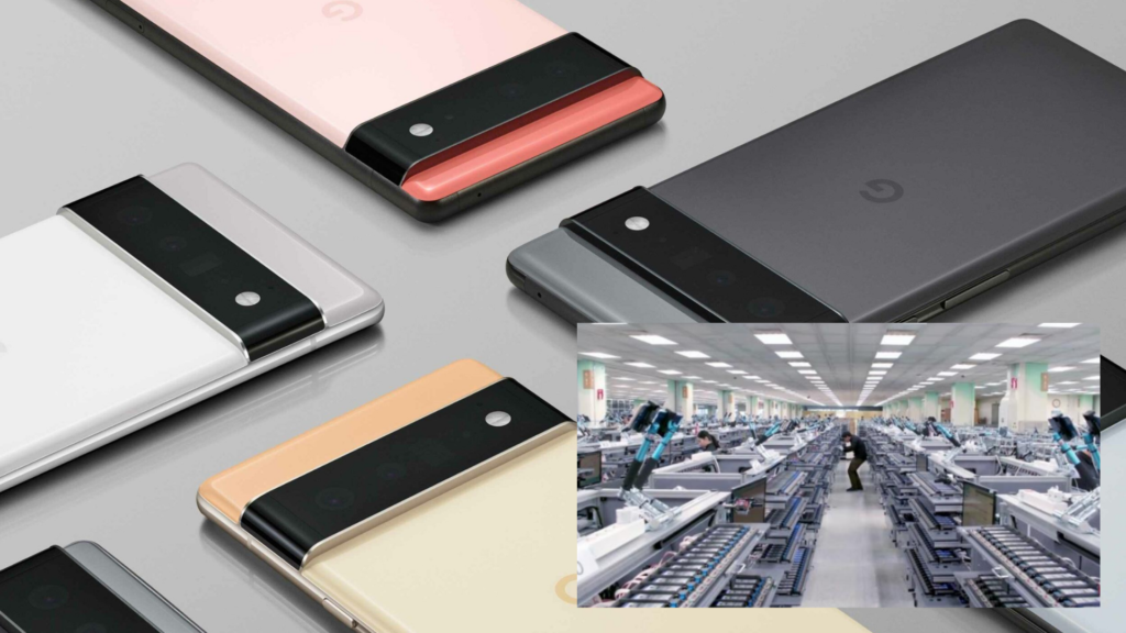 Google planning to re-shift its smartphone production back to China for Pixel 6 series