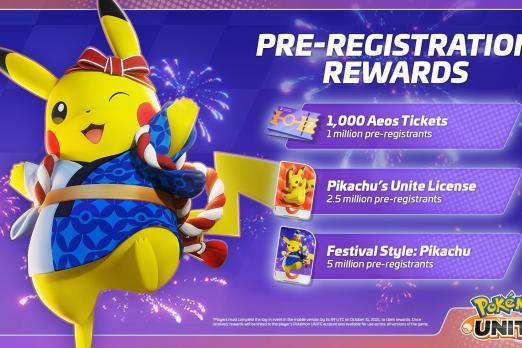 Pokemon Unite Mobile Launch Date Revealed
