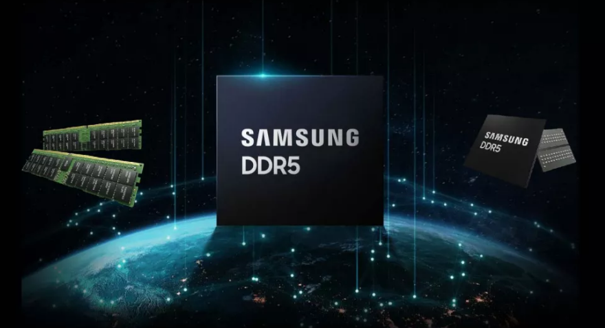 Samsung's upcoming 512GB DDR5 7200 RAM teased via Hot Chips 33