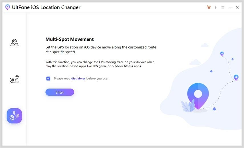UltFone iOS Location Changer
