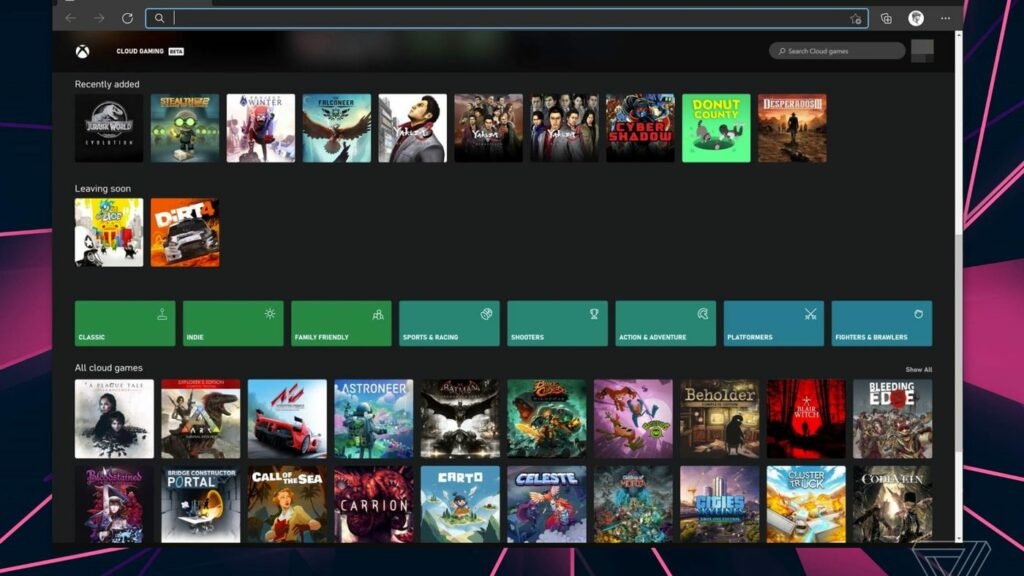 Xbox Cloud Streaming Is Now Accessible Through The Windows Xbox App
