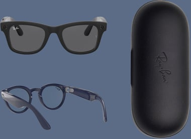 The smart glasses are on sale now for £299/$299. Photograph: PR Image