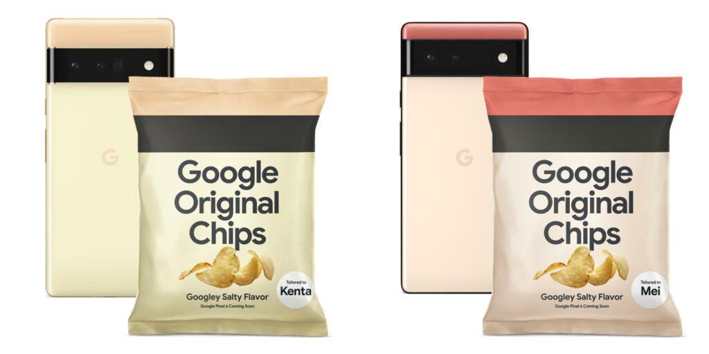 Google Original Potato Chips