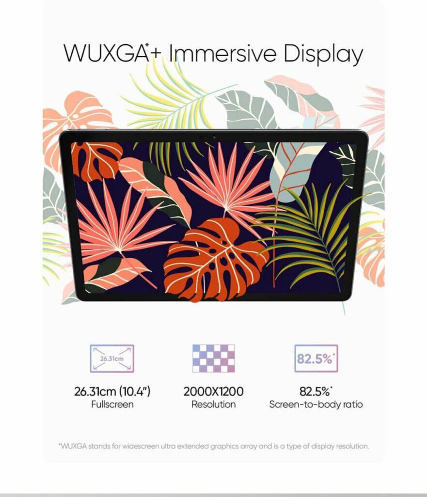 Realme Pad with WUXGA+ Display & More