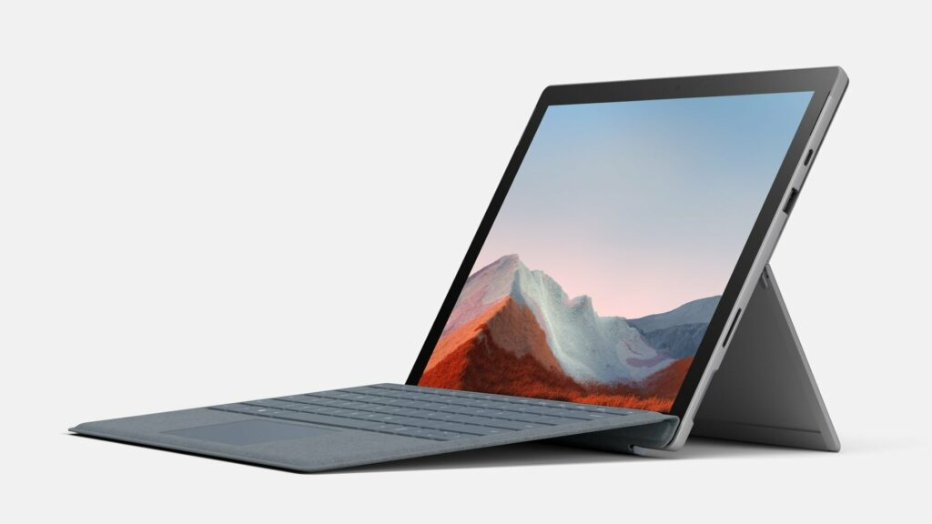 What are the specifications for Microsoft Surface Pro 8?