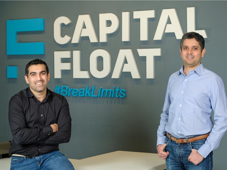 Capital Float founders Gaurav Hinduja (left) and Sashank Rishyasringa