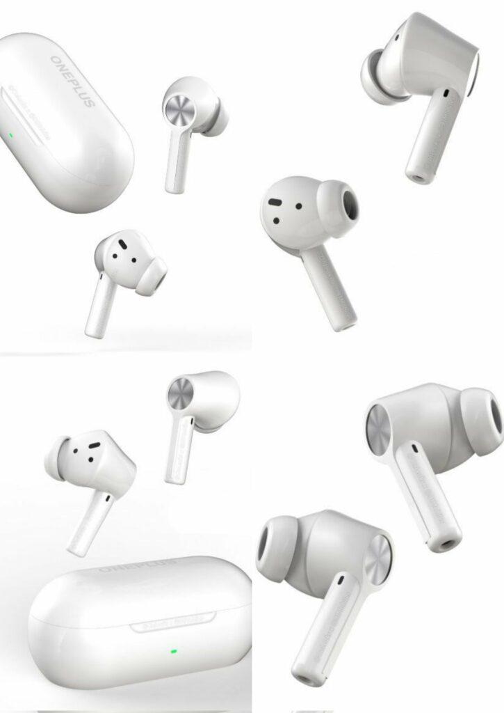OnePlus Buds Z2 TWS Earbuds Design Leaked - Speculated to arrive in October with OnePlus 9RT