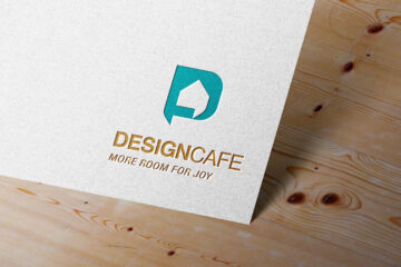 Design Cafe Logo Mockup