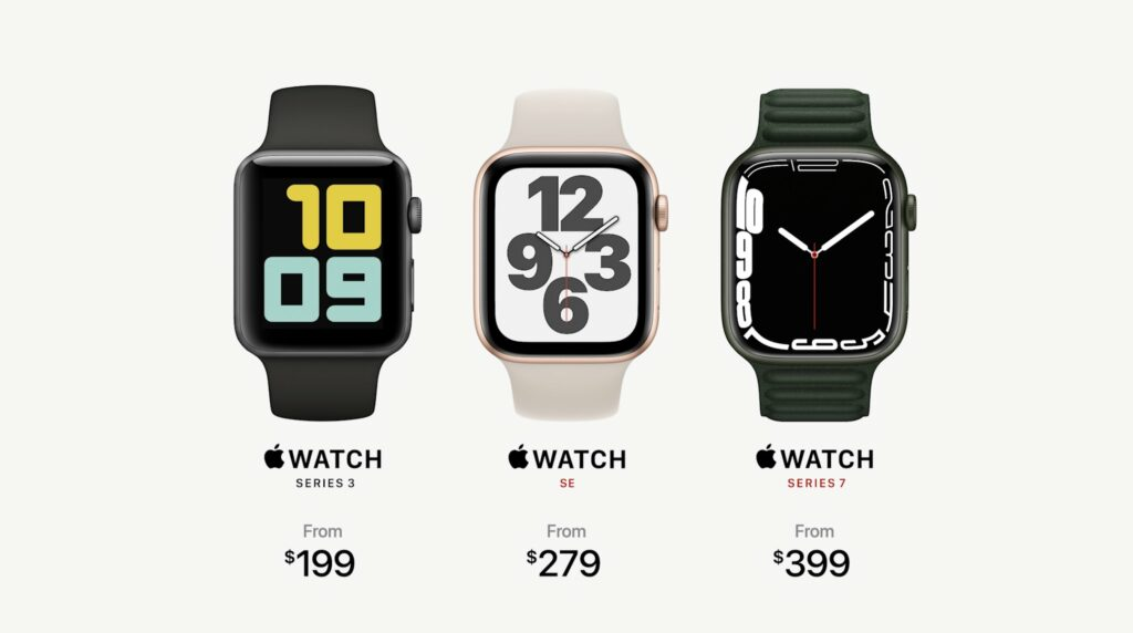 Apple Watch Series 7 – Pricing and more