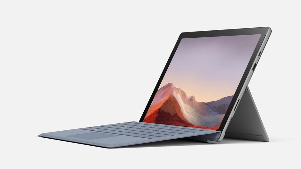 Microsoft Surface Pro 8 retail banner leaked showing 120Hz display & Thunderbolt Port