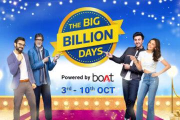 Big Billion Days Sale 2021 banner Image