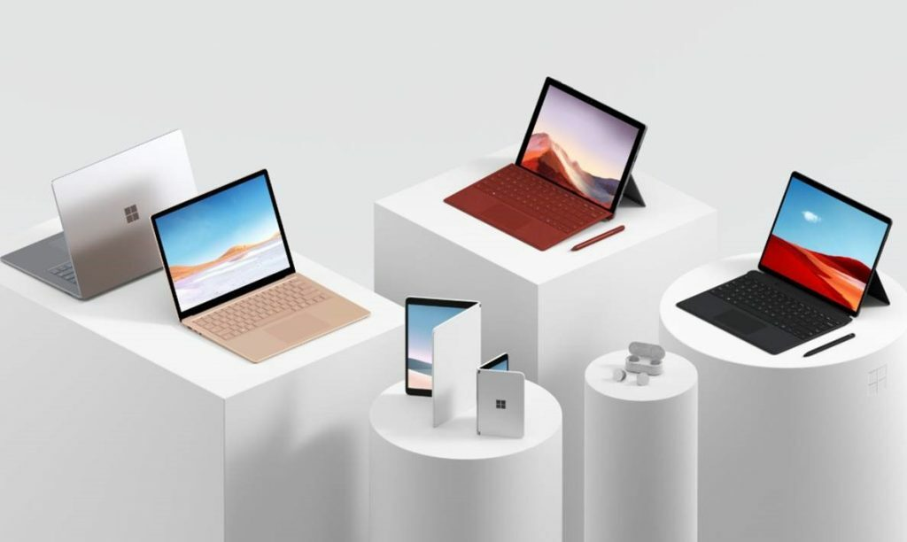 Products launched on Microsoft's Surface Event
