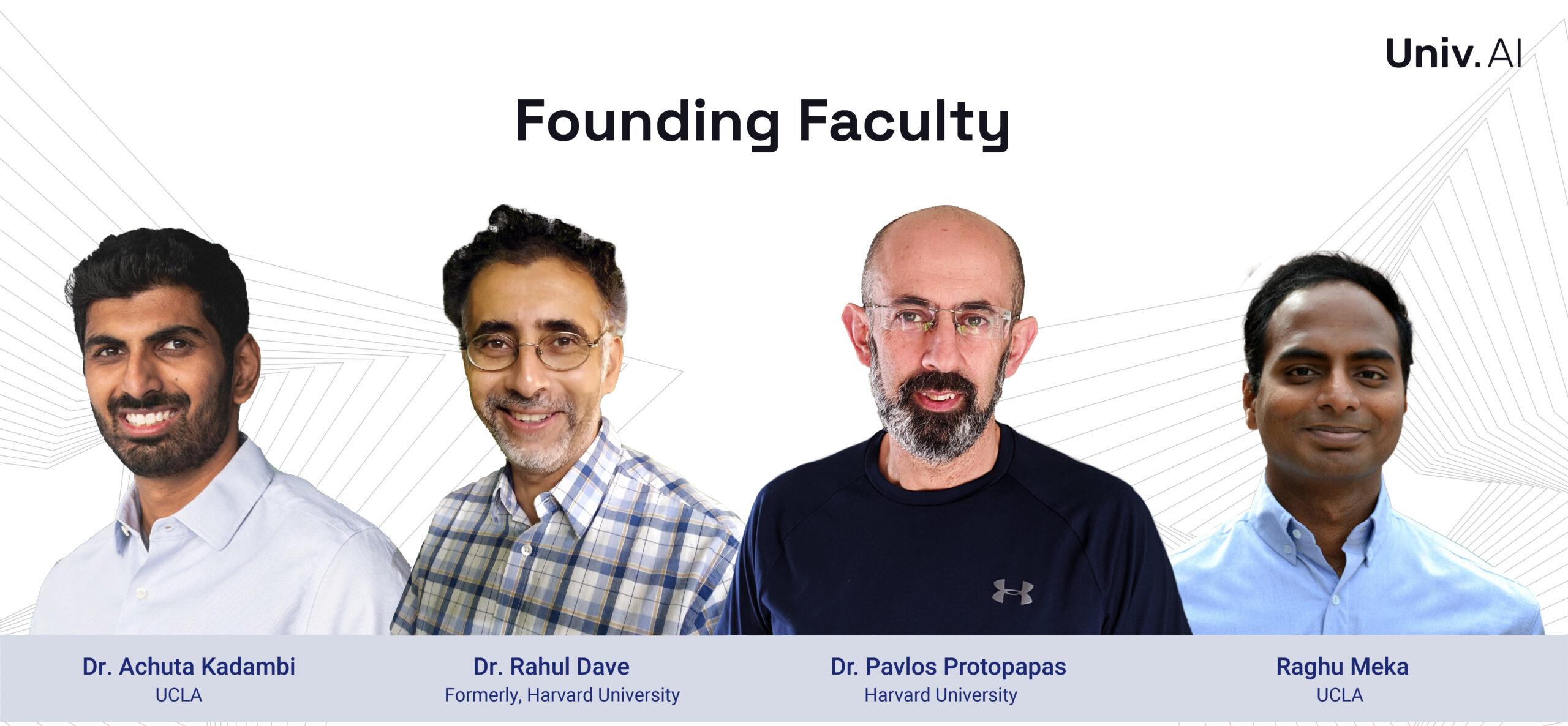 Founding Faculty - Univ.AI