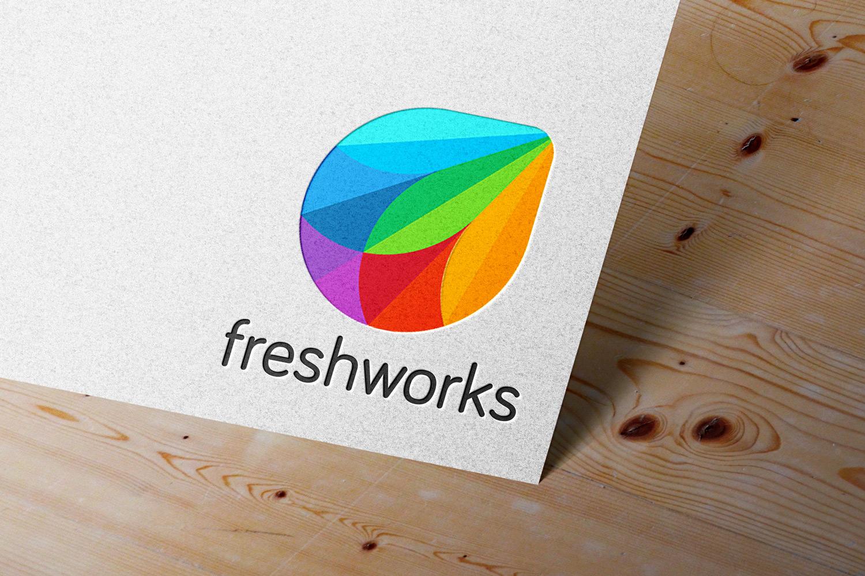 Freshworks Logo Mockup