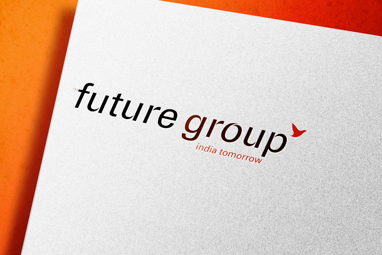 Future Group Logo Mockup