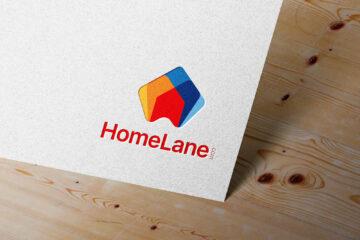 HomeLane Logo Mockup