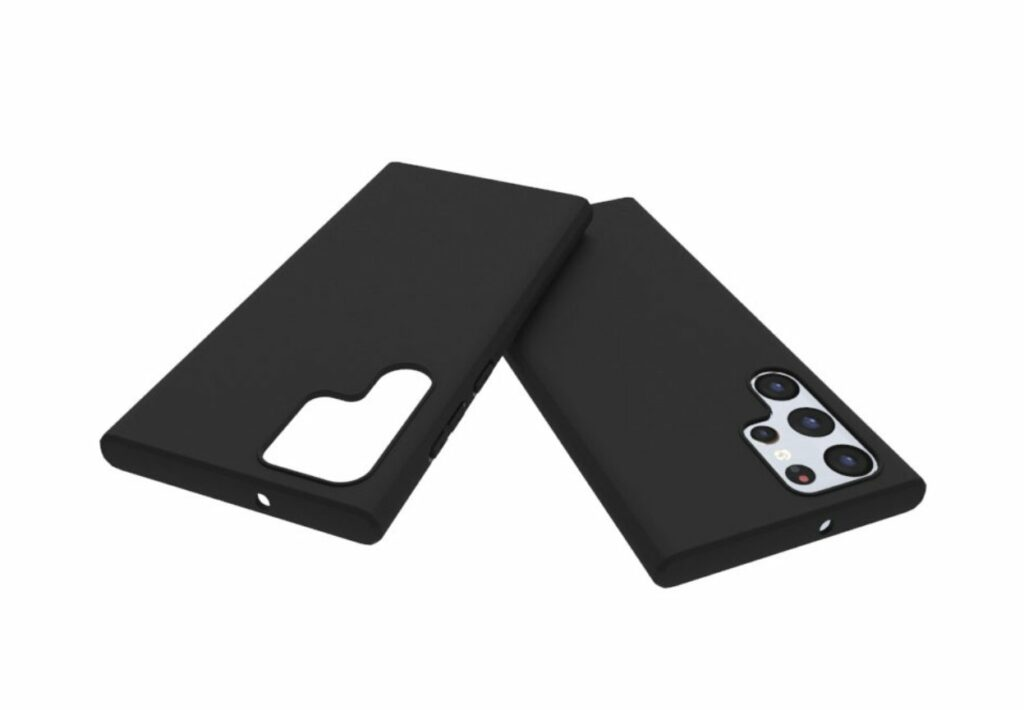 Samsung Galaxy S22 ultra cases leaked revealing redesigned cameras
